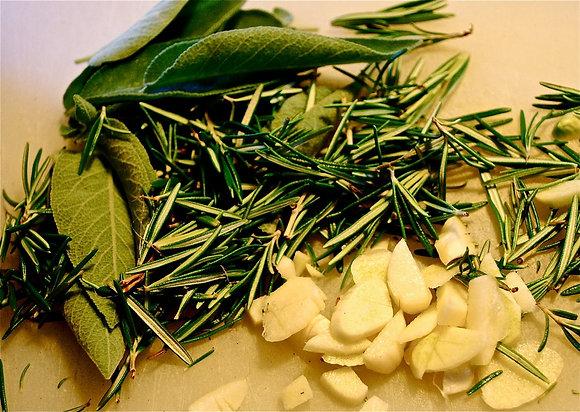 Organic Tuscan Herb Olive Oil