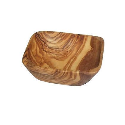 Olive Wood Dipping Bowl- Square