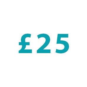 Donation : £25
