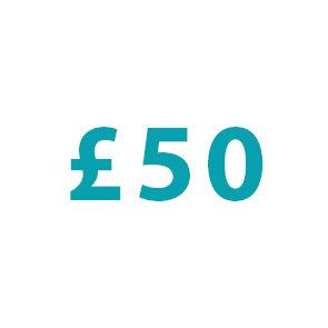 Donation : £50