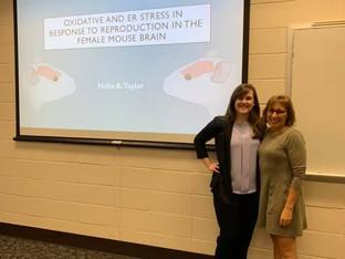 April 2019 - Congratulations, Halie Taylor, MS