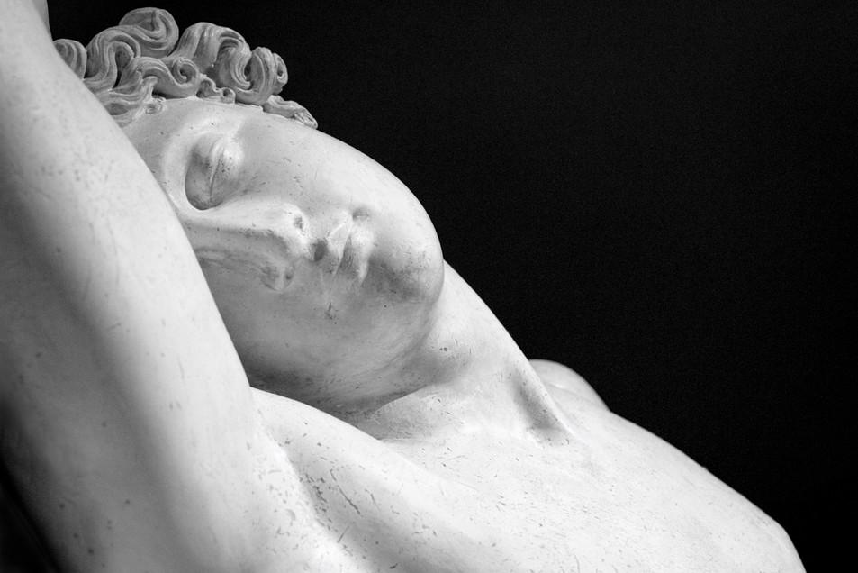 """""""Endimione dormiente"""", Antonio Canova 1822"""