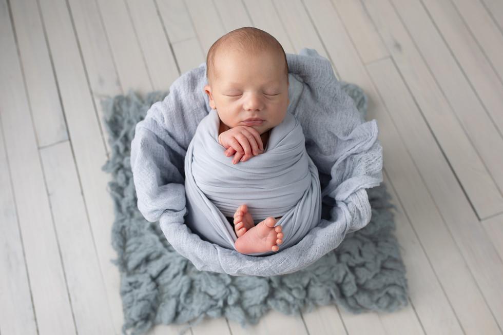 Photographie du nouveau né