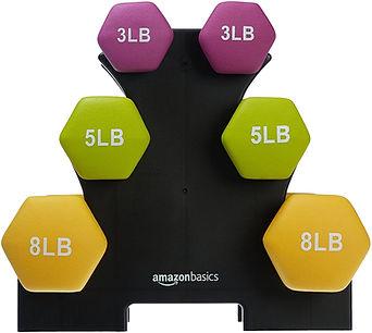 Dumbbells Amazon Basics 3, 5, 8 LBS.jpg