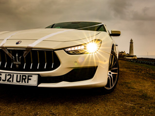 Get married in style with our Maserati wedding car