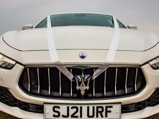 Maserati wedding car
