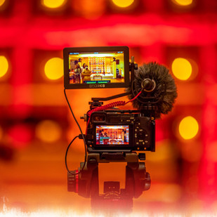 Captivate your audience with video marketing.