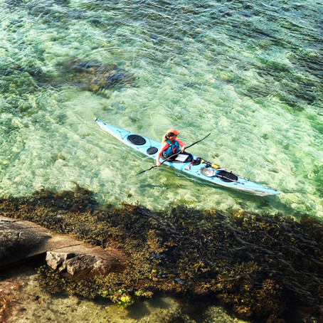 North Shore Voyager Evolution - en sjöresa via Väderöarna. Av Kathrine Olufsen