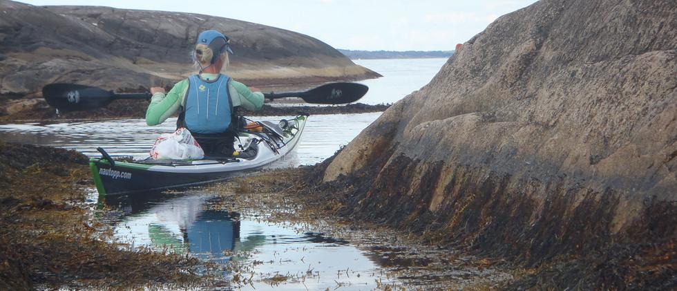 Paddling i Bohuslän