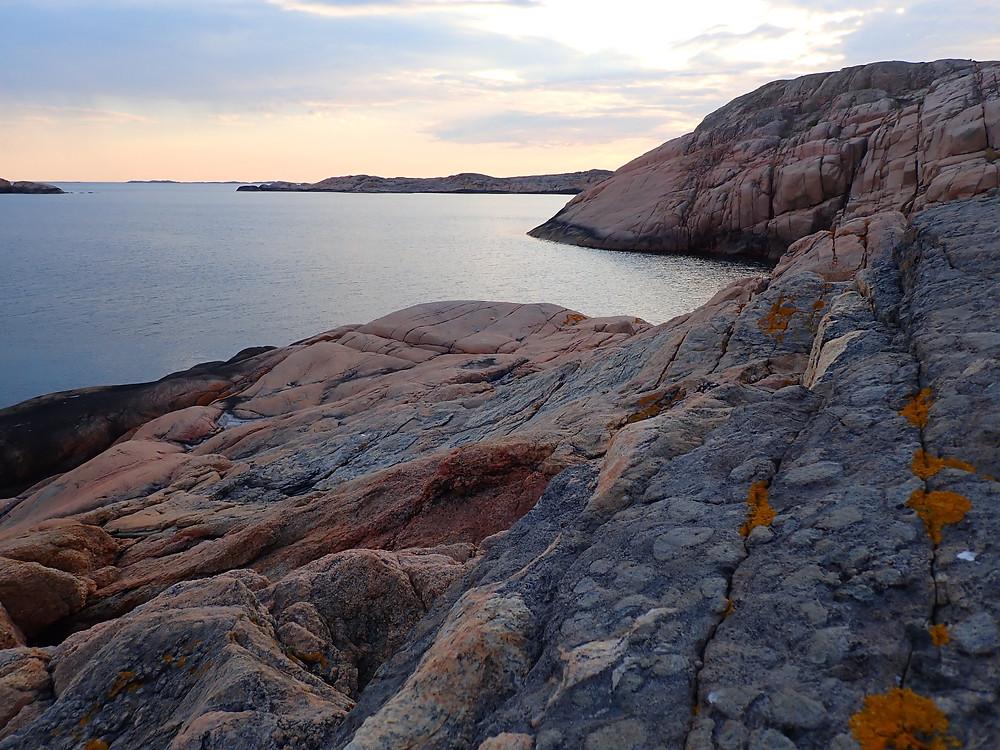 Utsikt från Vedholmen mot väst