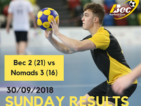 Bec 2 kick of the 2018/19 season with a win!