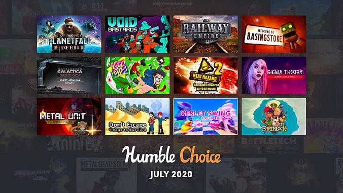 Humble Choice July 2020