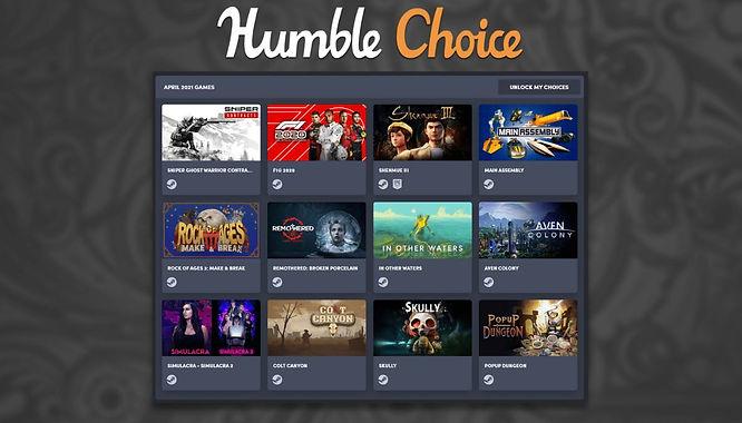 Humble Choice April 2021