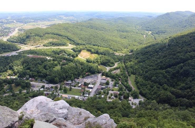 Cumberland Gap from the Pinnacle Overlook
