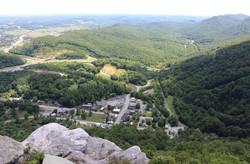 Cumberland Gap from the Pinnacle Overlook