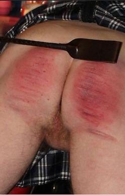 Spanked Bottom