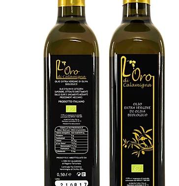 Olio Extra Vergine d'Oliva Biologico Oro di Calamigna