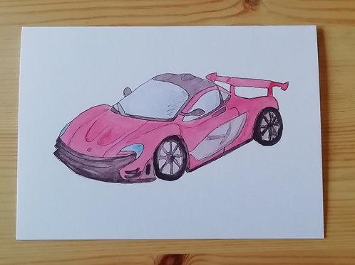McLaren card