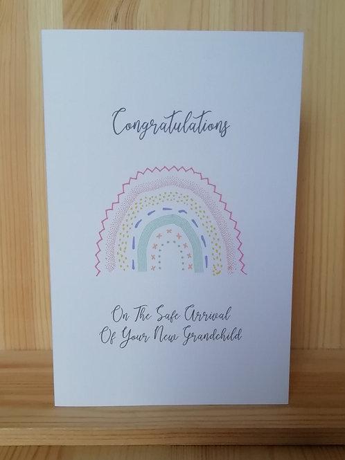 Congrats New Grandparent card