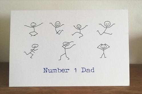 Father's Day Stickmen