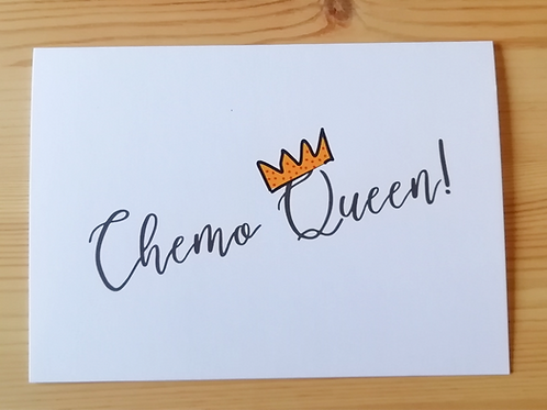 Chemo Queen card