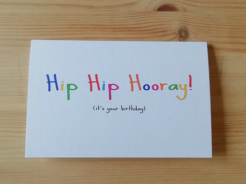 Hip Hip Hooray Birthday