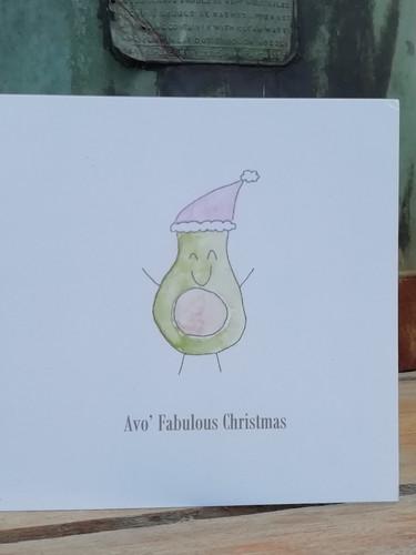 Avocado Christmas 1