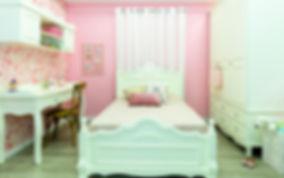 עיצוב פנים לחדר שינה לילדה