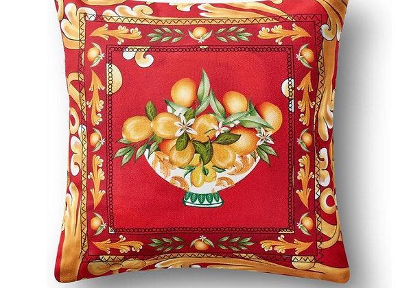 Capri Yastık Kırmızı 43*43 Cm