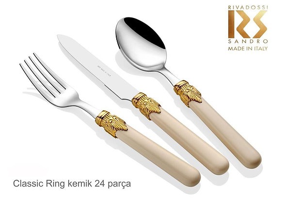 Classic Ring Kemik 24 parça