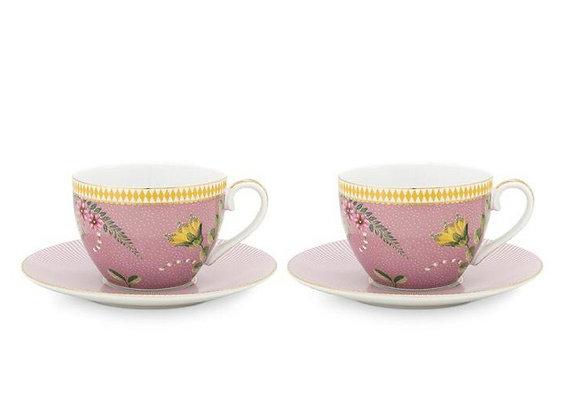La Majorelle İkili Çay Fincanı Seti 280 ML