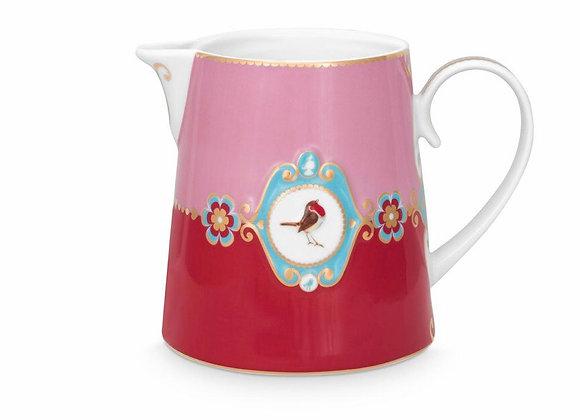 Love Bird Sürahi, Kırmızı/Pembe