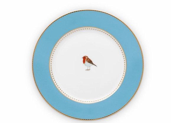 Love Bird Tabak 21 Cm, Mavi