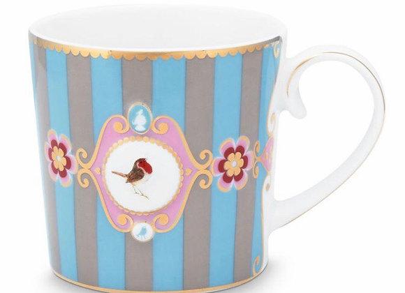 Love Bird Mug, Mavi/Haki