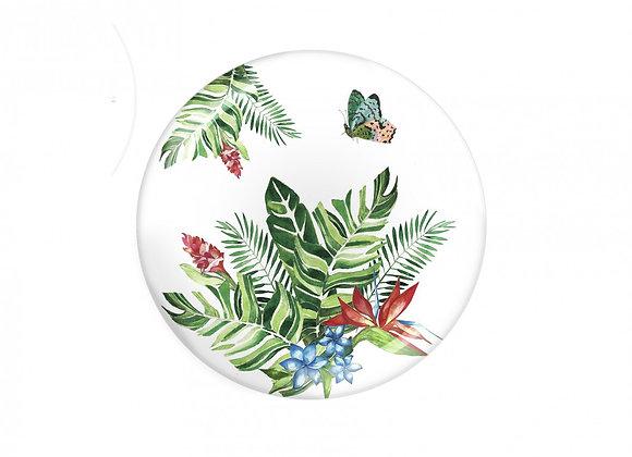 Butterfly Collection Melamin Büyük Tabak