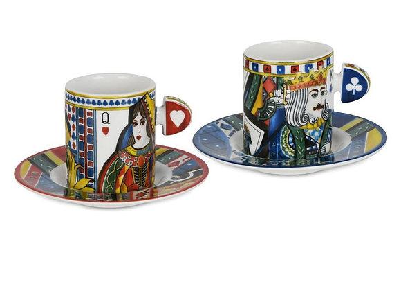 Regina 2li Porselen Kahve Fincanı