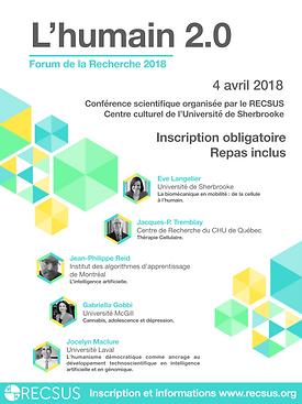 Forum de la recherche 2018
