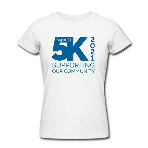 Women's Airgain 5K T-Shirt