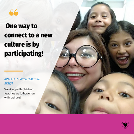 Connect to a new culture by participating