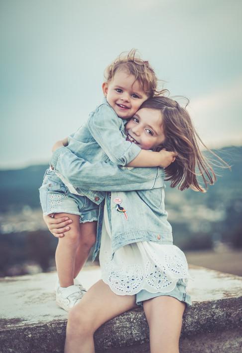 séance photos famille frère et soeur