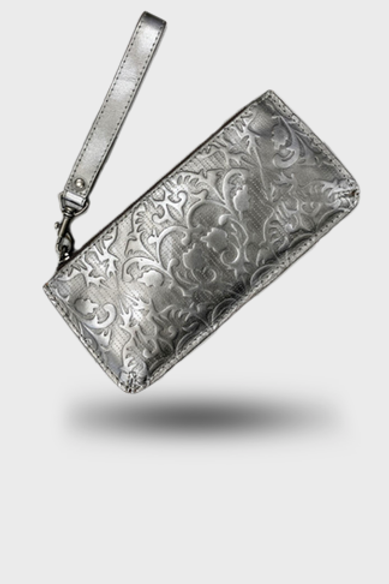 Gucci Silver Purse