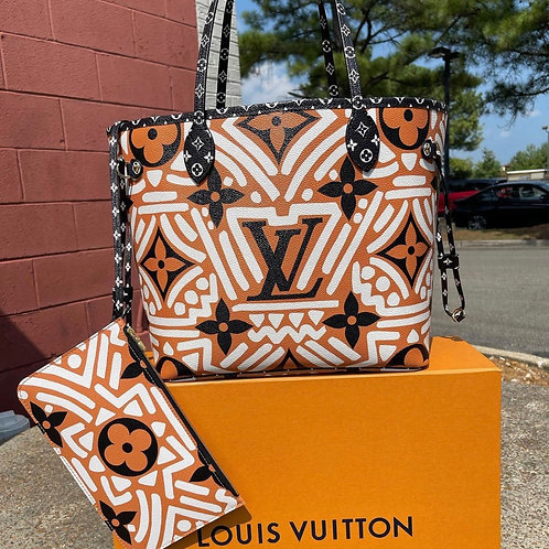 Louis Vuitton2020 Limited Edition Crafty Giant Print Neverfull MM Box and Dustba