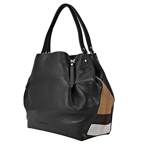 Burberry Pebbled Leather Tote