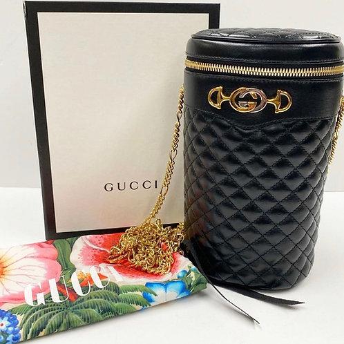 Gucci Zumi 3 Way Leather Bag