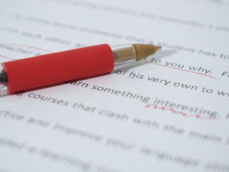Between Writing and Editing