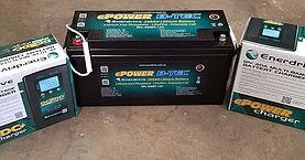 Hr B-TEC battery, DC2DC 40amp dual input