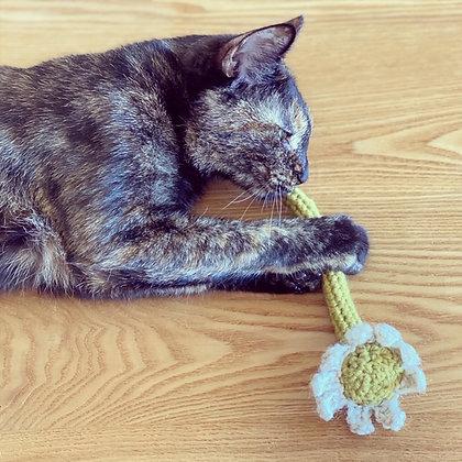 お花のおもちゃ(キャットニップ)