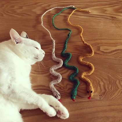 ねこのおもちゃ(キャットニップ)・ヘビ