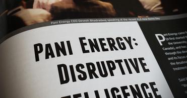 Disruptive Intelligence: Pani Energy in Water & Wastewater Asia Magazine