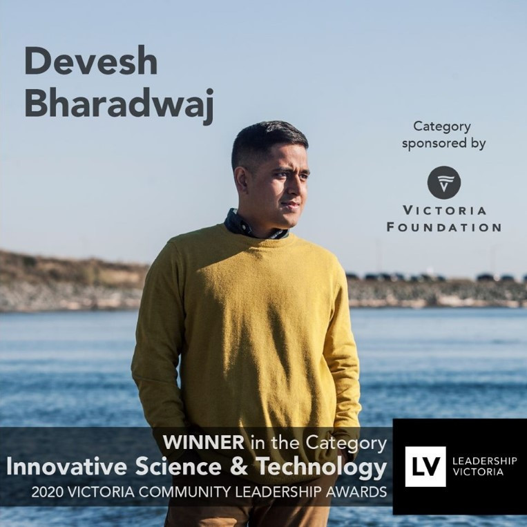 Pani Energy CEO Devesh Bharadwaj, photo by Jeffrey Bosdet